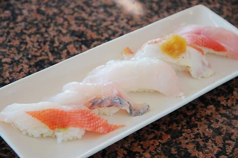 おかべ屋さんの握り寿司♪